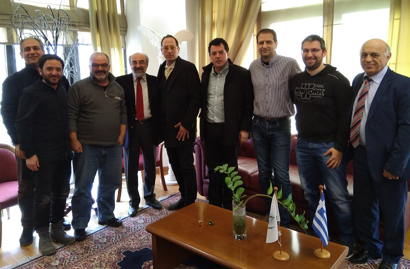 STETH is meeting with the Mayor of Alexandroupoli [article in Greek]